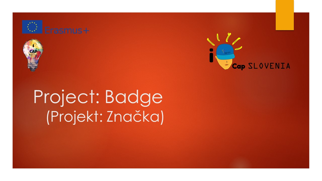 Slovenia: Project - Badge